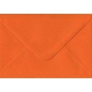 100 C6/A6 Orange Envelopes. Orange. 114mm x 162mm. 100gsm paper. Extra Value MultiPack.