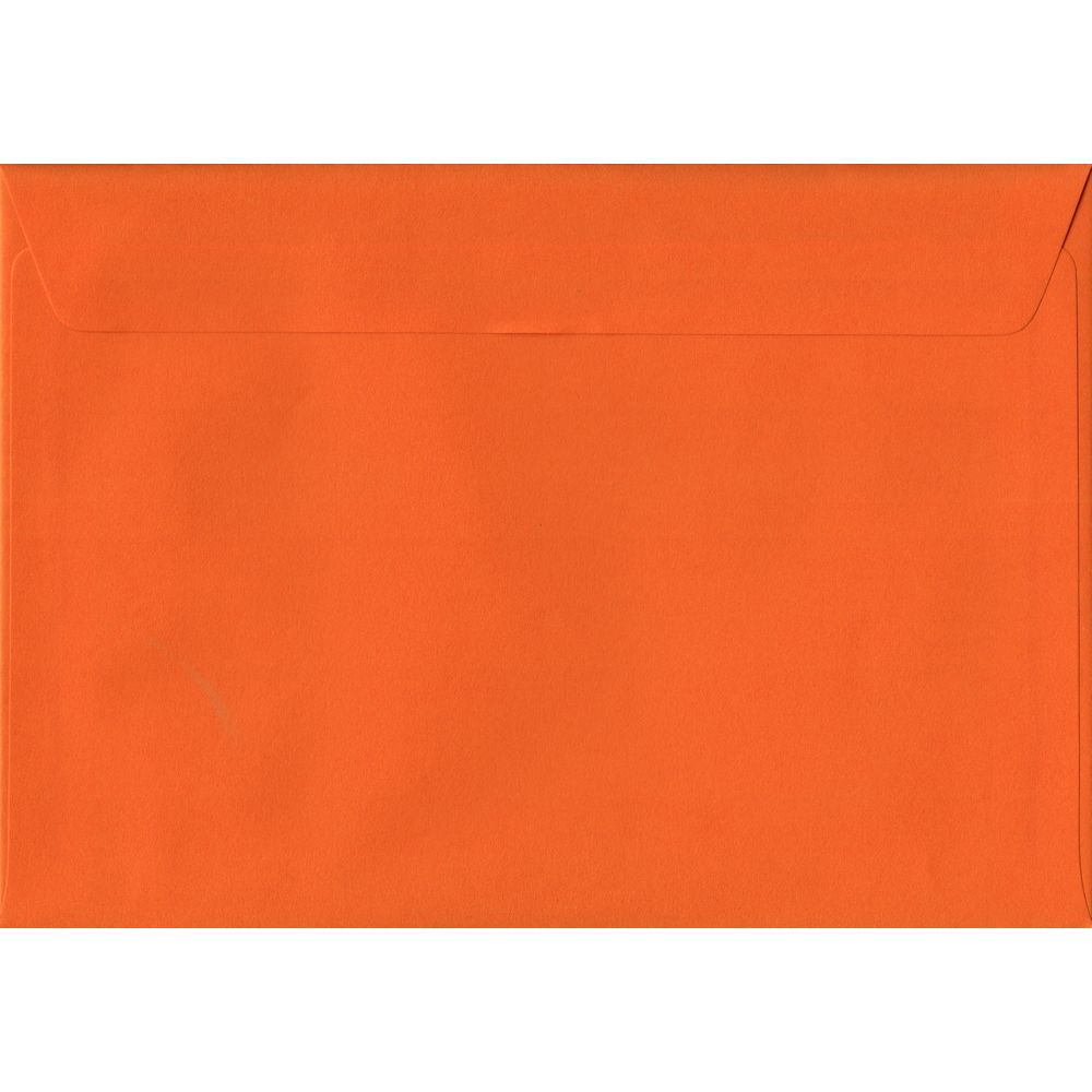 Orange C5 162mm x 229mm Peel/Seal A5 Size Colour Envelopes
