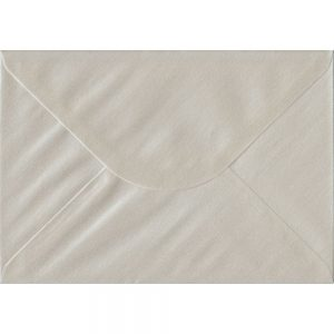 Pearlescent Oyster C5 162mm x 229mm Gummed A5 Size Colour Envelopes
