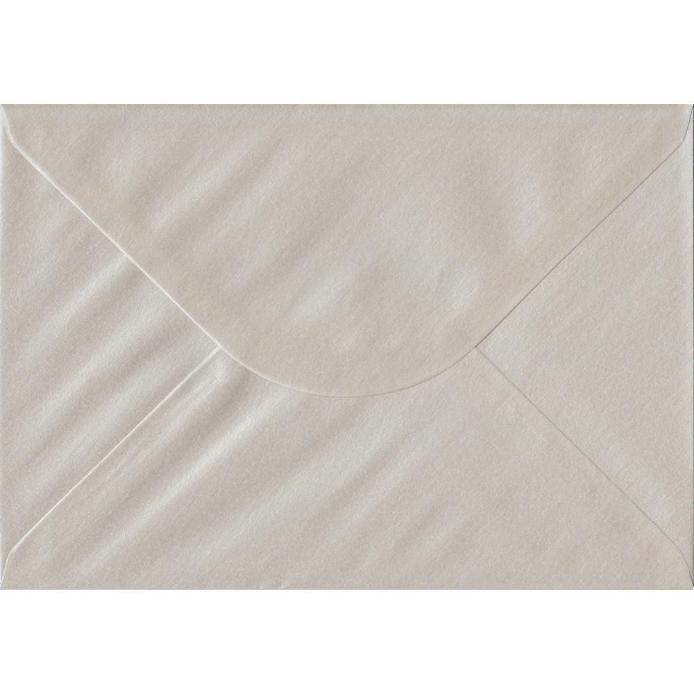 Pearlescent Oyster C5 162mm x 229mm Gummed A5 Size Colour Envelopes