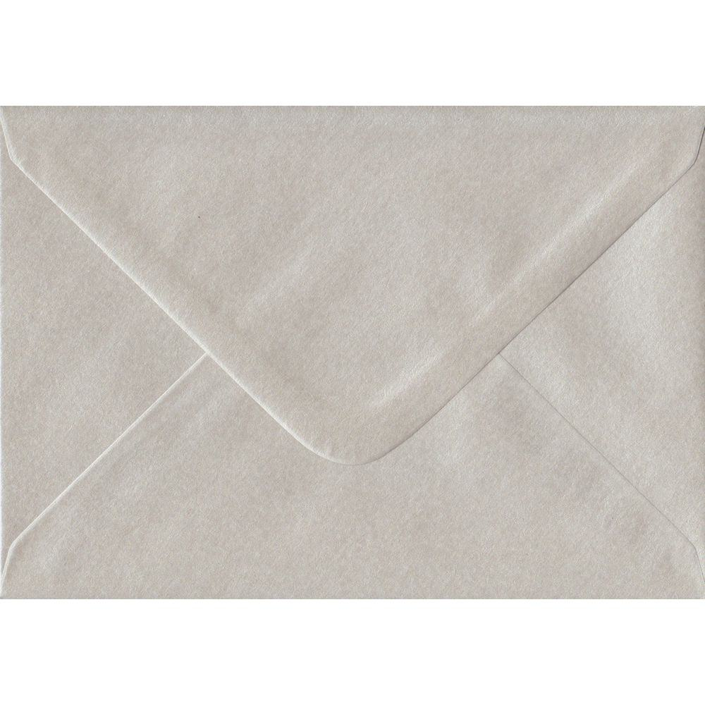 Pearlescent Oyster C6 114mm x 162mm Gummed Coloured A6 Card Envelopes
