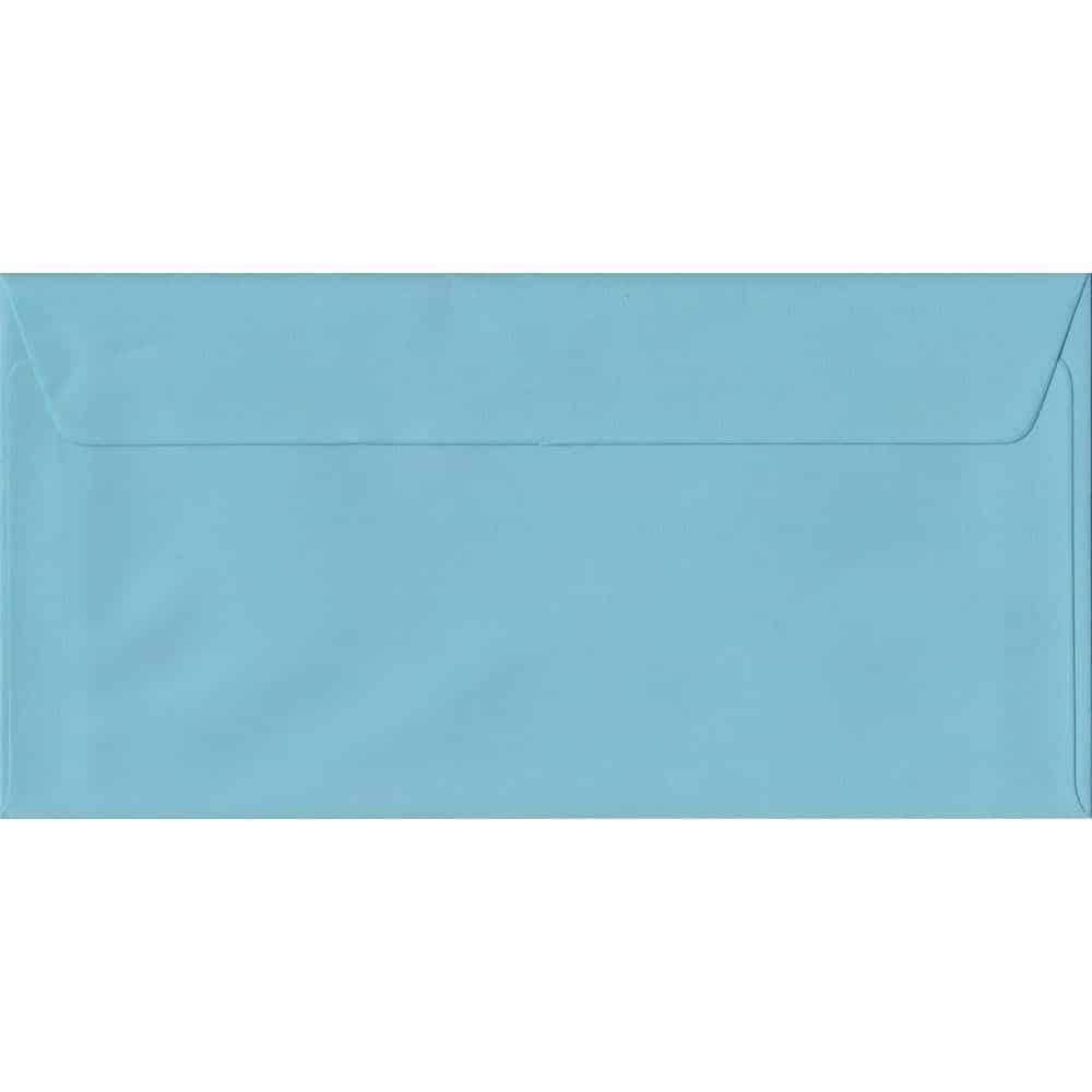 Blue DL 110mm x 220mm Peel/Seal Colour Business Envelopes