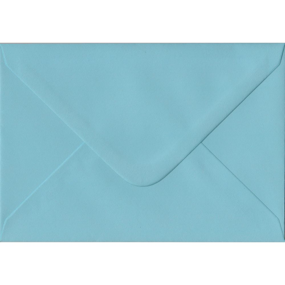 Blue C6 114mm x 162mm Gummed Coloured A6 Card Envelopes