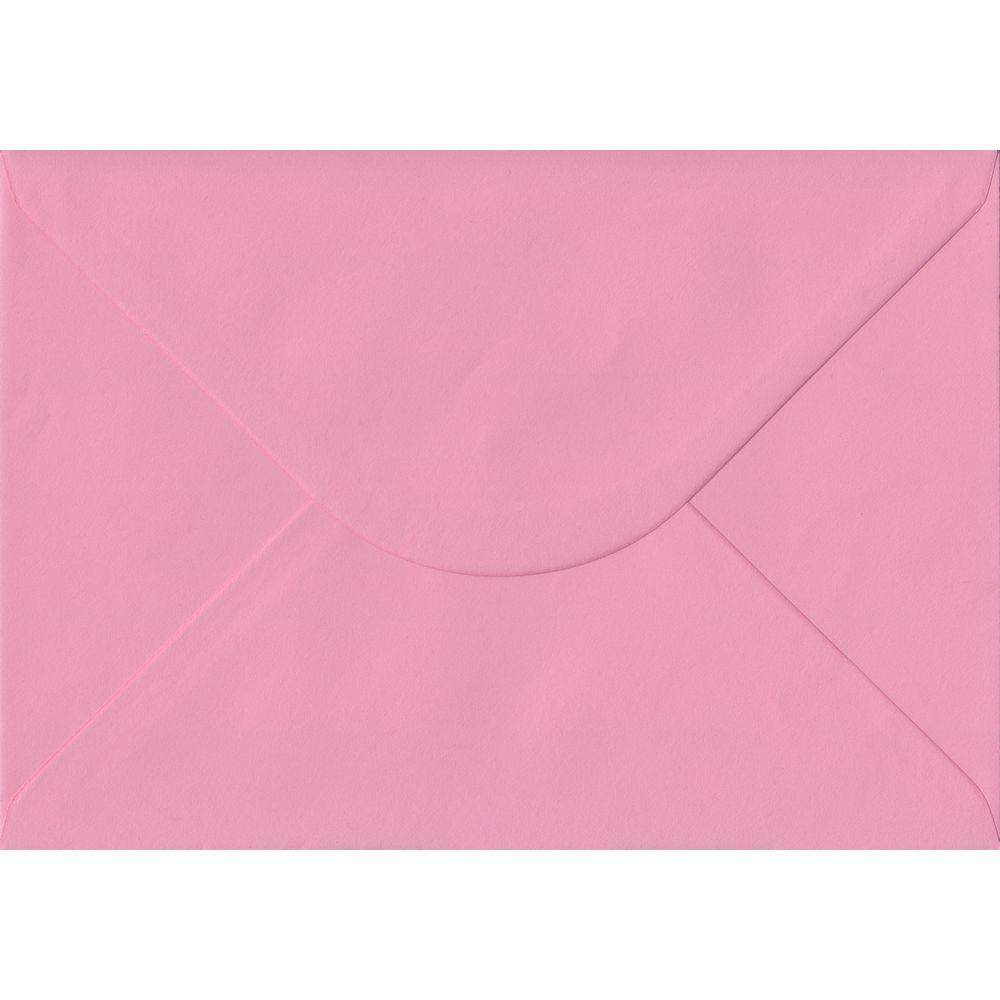 Pink C5 162mm x 229mm Gummed A5 Size Colour Envelopes