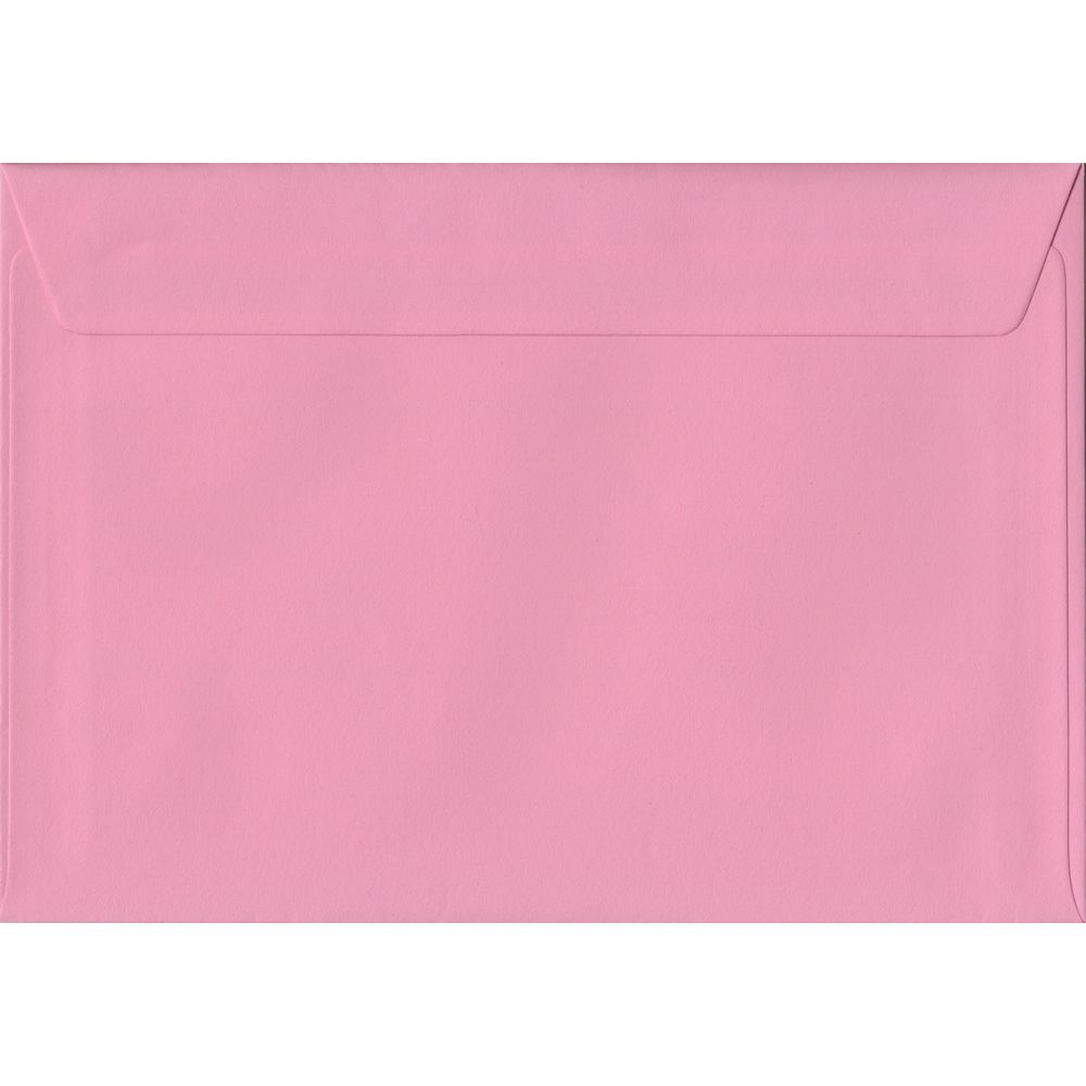 Pink C5 162mm x 229mm Peel/Seal A5 Size Colour Envelopes