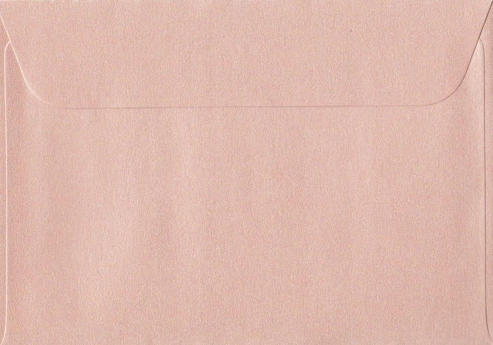 114mm x 162mm Peach Peel/Seal C6/A6 Paper 120gsm Envelope