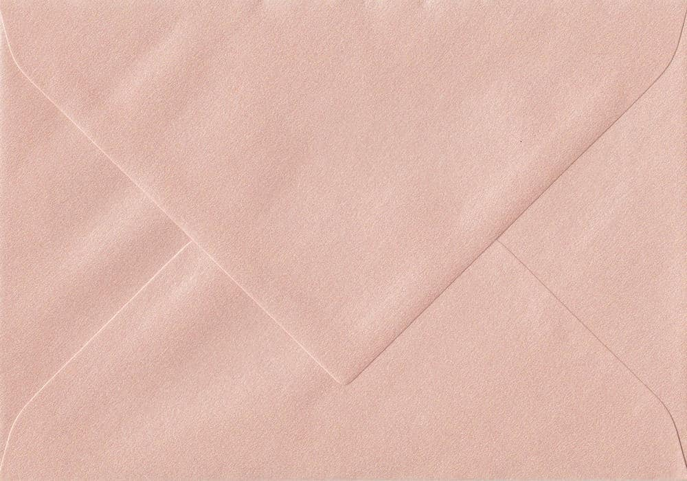 75mm x 110mm Peach Gummed RSVP/Gift Card 120gsm Envelope