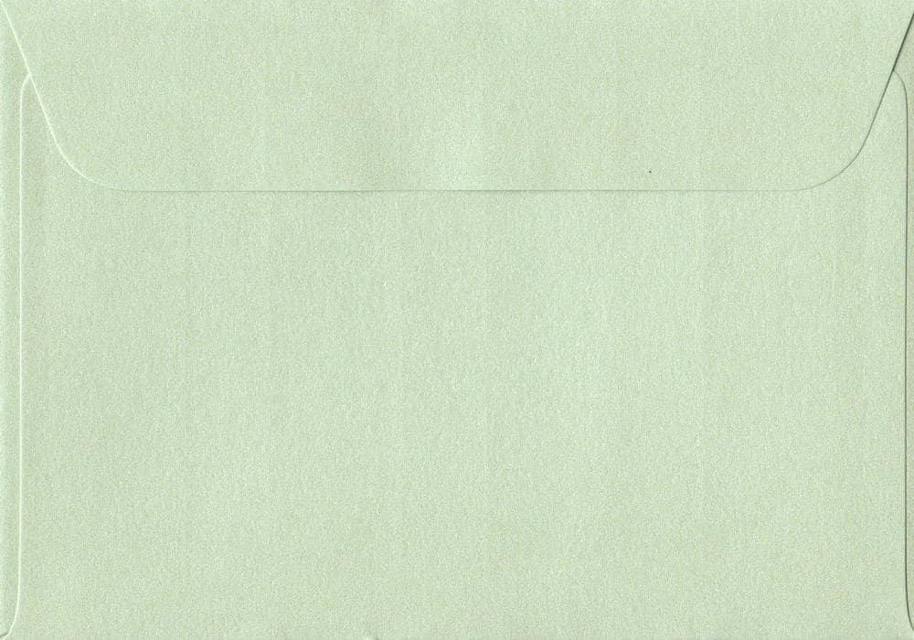 114mm x 162mm Pistachio Green Peel/Seal C6/A6 Paper 120gsm Envelope