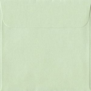 160mm x 160mm Pistachio Green Peel/Seal Square Paper 120gsm Envelope