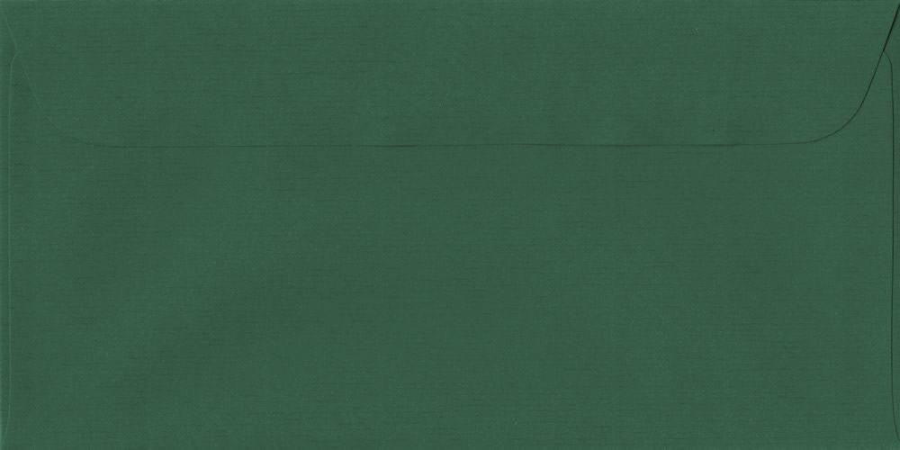 114mm x 224mm Racing Green Peel/Seal DL Paper 100gsm Envelope
