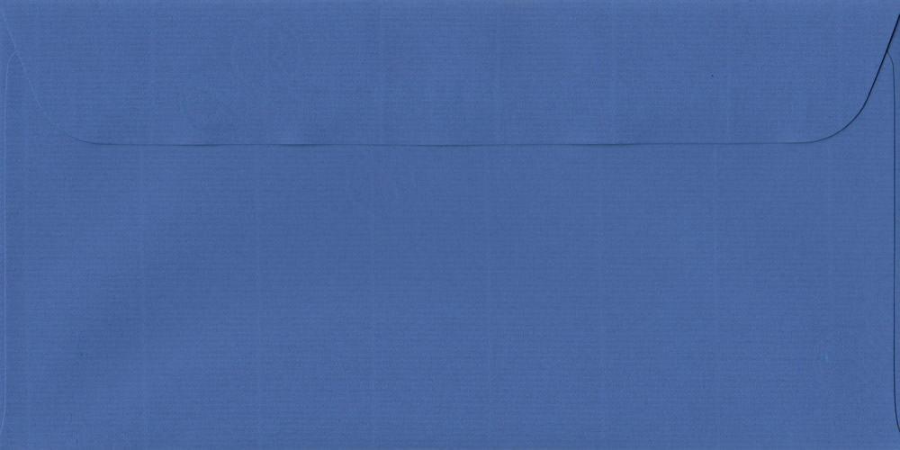 114mm x 224mm Royal Blue Peel/Seal DL Paper 100gsm Envelope