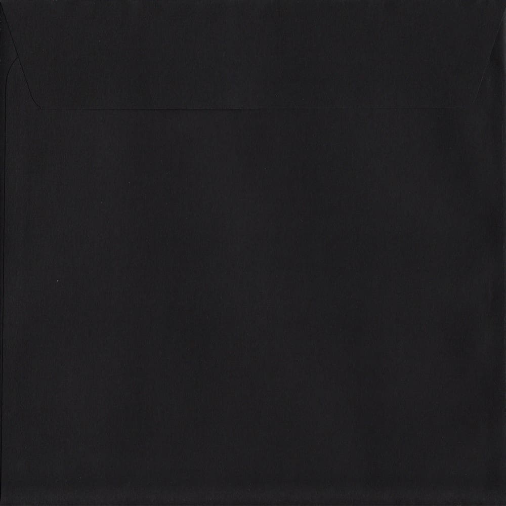 Luxury Black S2 220mm x 220mm Peel/Seal S2 Colour Envelope