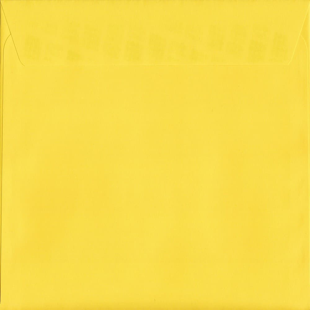 Vivid Canary Yellow S2 220mm x 220mm Peel/Seal S2 Colour Envelope