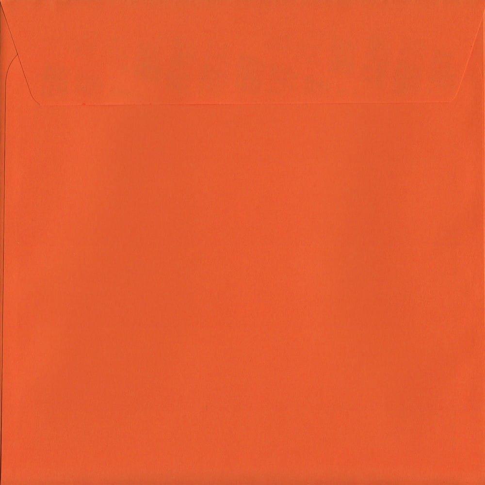 Vivid Sunset Orange S2 220mm x 220mm Peel/Seal S2 Colour Envelope
