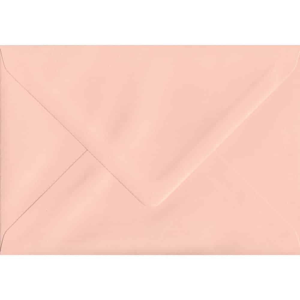 114mm x 162mm Salmon Pink Gummed C6/A6 100gsm Envelope