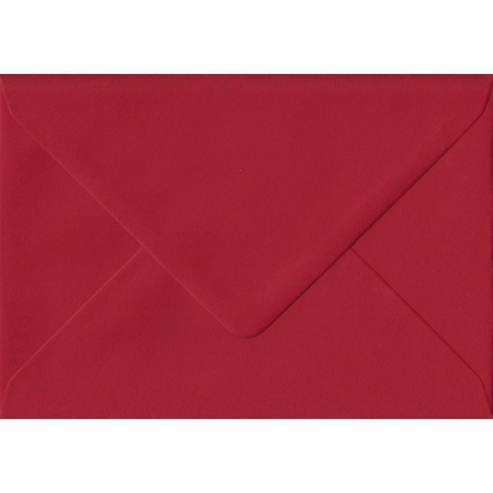 100 C6/A6 Red Envelopes. Scarlet Red. 114mm x 162mm. 100gsm paper. Extra Value MultiPack.