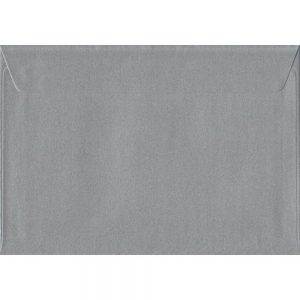 100 C5/A5 Silver Envelopes. Metallic Silver. 162mm x 229mm. 100gsm paper. Extra Value MultiPack.