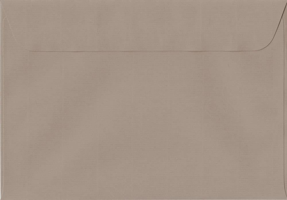 162mm x 229mm Taupe Peel/Seal C5/A5 Paper 100gsm Envelope
