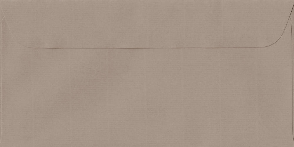 114mm x 224mm Taupe Peel/Seal DL Paper 100gsm Envelope