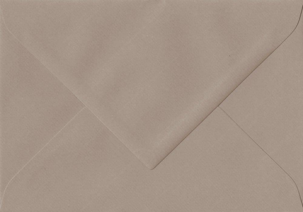 75mm x 110mm Taupe Gummed RSVP/Gift Card 100gsm Envelope