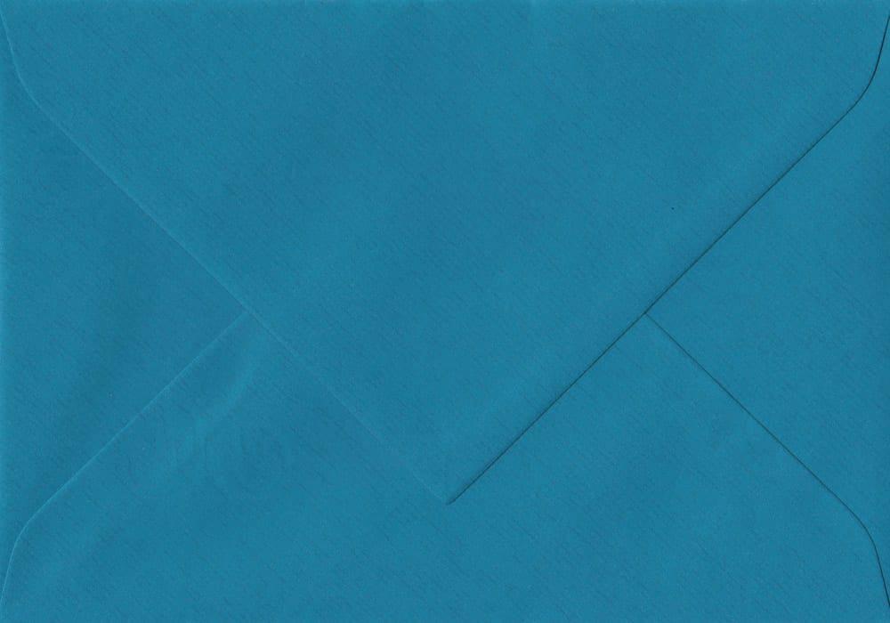 135mm x 191mm Petrol Blue Gummed 5x7 Paper 100gsm Envelope
