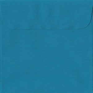160mm x 160mm Petrol Blue Peel/Seal Square Paper 100gsm Envelope