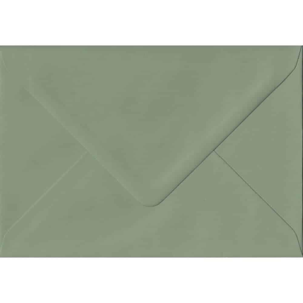 114mm x 162mm Vintage Green Green Gummed C6/A6 135gsm Envelope