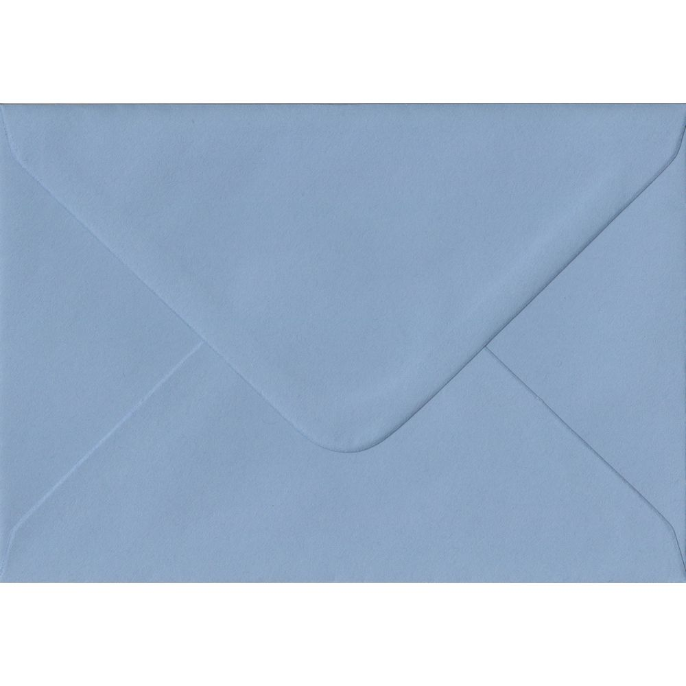 Wedgwood Blue C6 114mm x 162mm Gummed Coloured A6 Card Envelopes