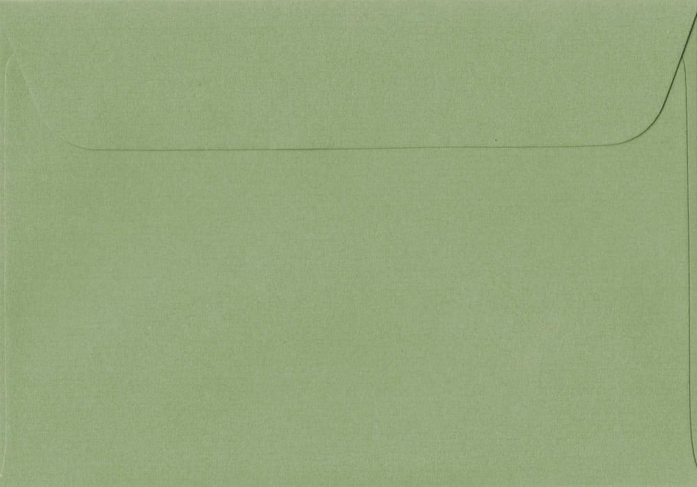 114mm x 162mm Wedgwood Green Peel/Seal C6/A6 Paper 100gsm Envelope