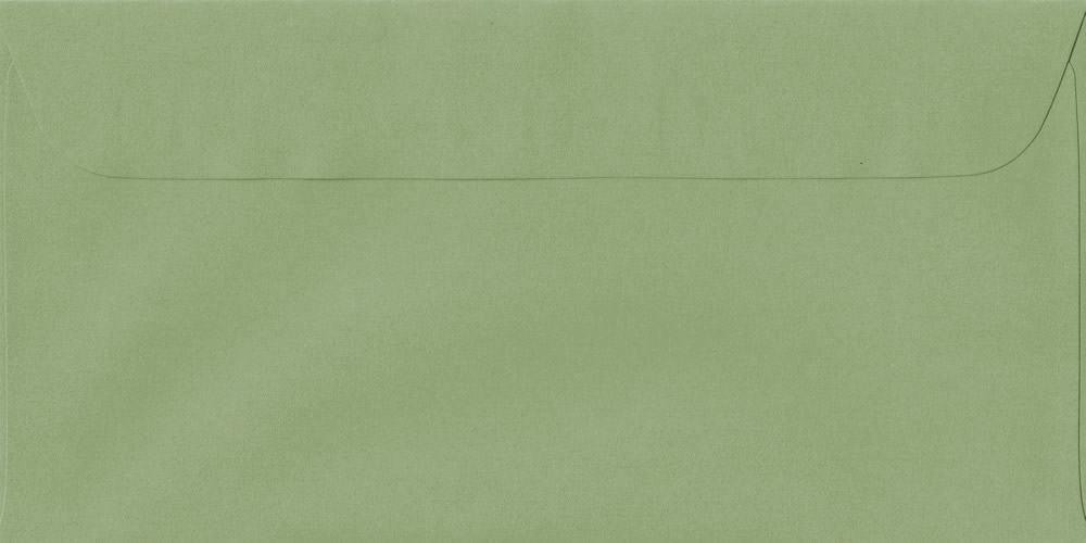 114mm x 224mm Wedgwood Green Peel/Seal DL Paper 100gsm Envelope
