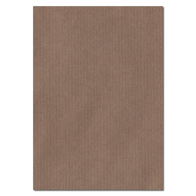 297mm x 210mm Brown Ribbed Brown A4 100gsm Paper