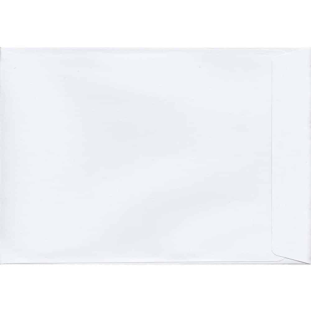 50 C4/A4 White Envelopes. White. 229mm x 324mm. 120gsm paper. Extra Value MultiPack.