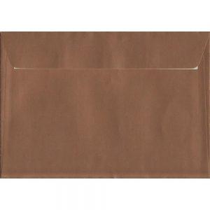 100 C5/A5 Copper Envelopes. Metallic Copper. 162mm x 229mm. 120gsm paper. Extra Value MultiPack.