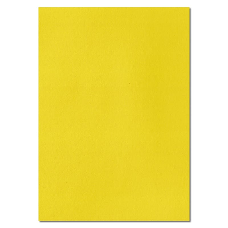 297mm x 210mm Daffodil Yellow Yellow A4 100gsm Paper