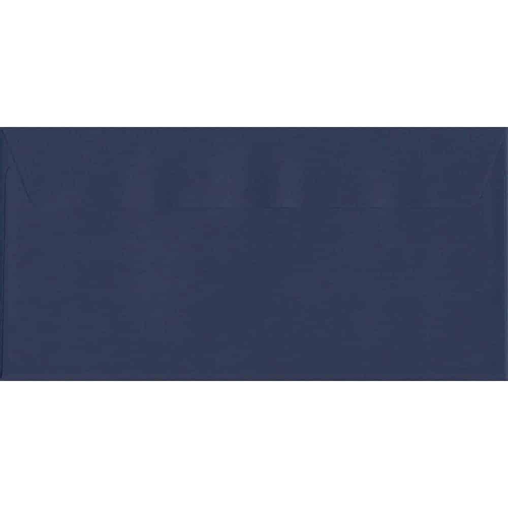 100 DL Blue Envelopes. Oxford Blue. 110mm x 220mm. 120gsm paper. Extra Value MultiPack.