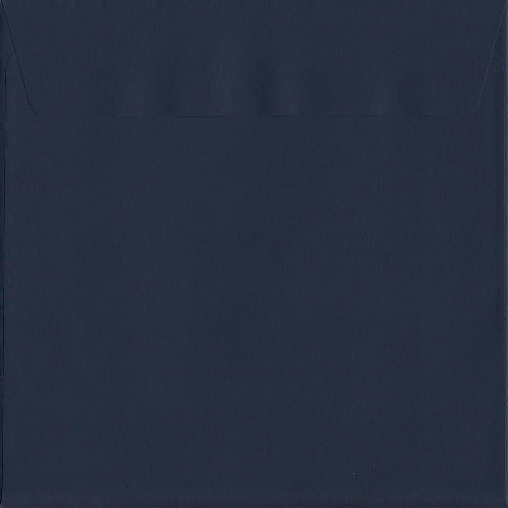 50 Large Square Blue Envelopes. Oxford Blue. 220mm x 220mm. 120gsm paper. Extra Value MultiPack.